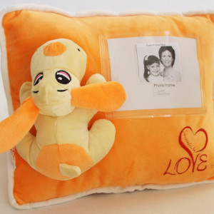 Cooper personalized pillow Surrounded By Love