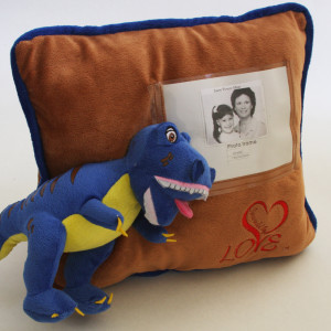 Rex personalized pillow Surrounded By Love
