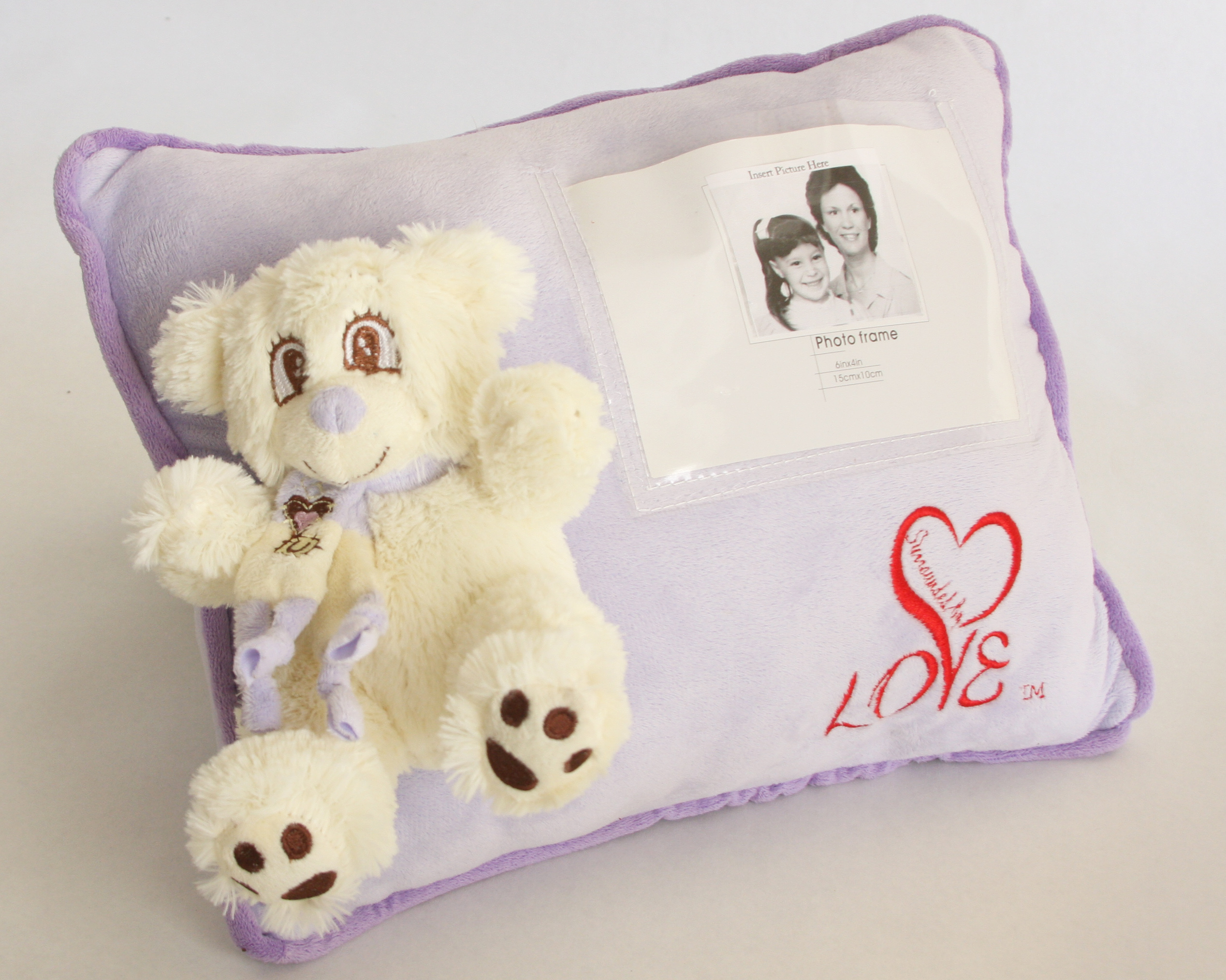 Snowflake personalized pillow Surrounded By Love
