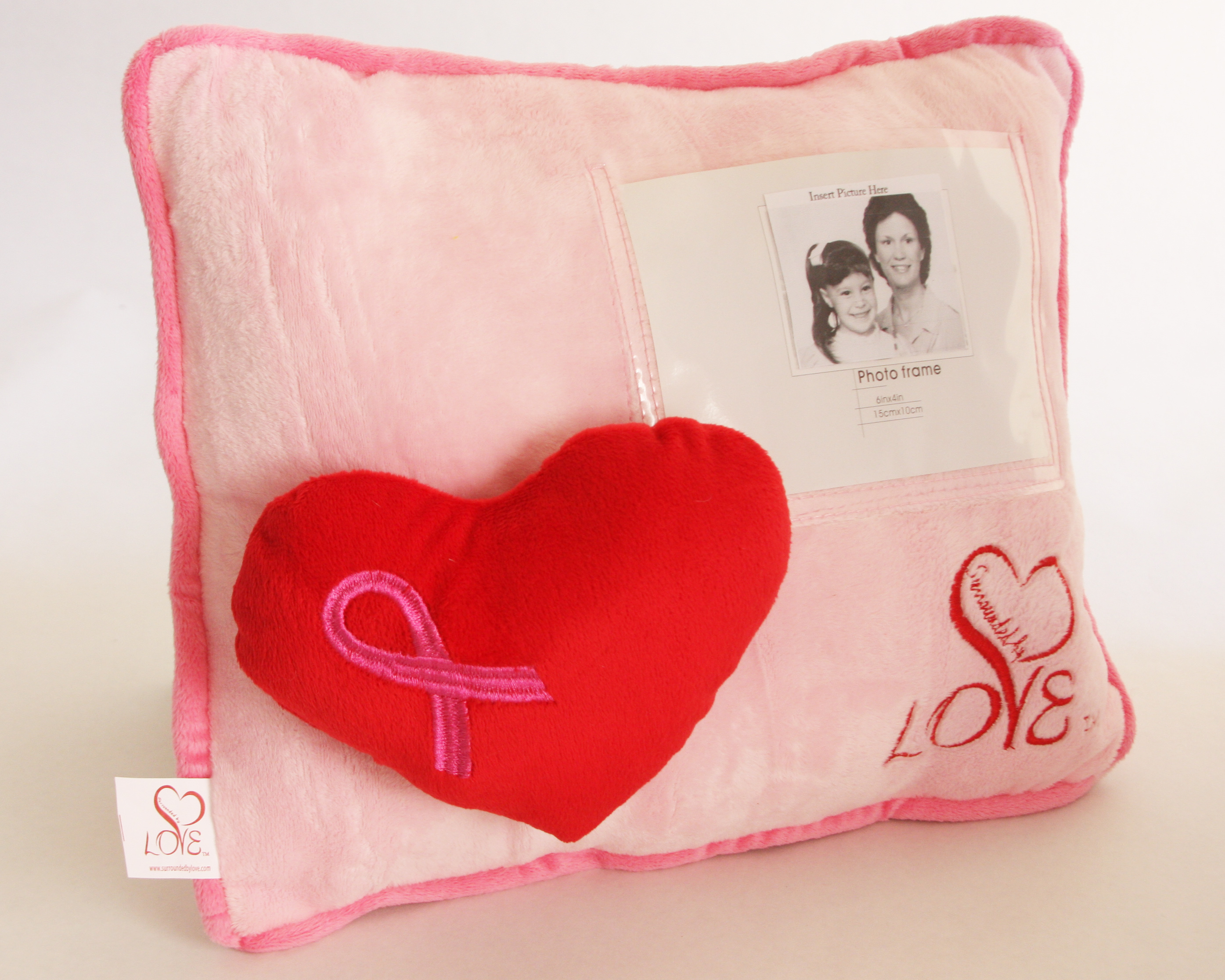 Survivor personalized pillow Surrounded By Love